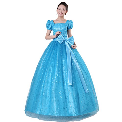旋律的フリンジ道路cnstone カラードレス ブルー 演奏会用ドレス ウエディングドレス 舞台に映えるAライン シンプル 艶感 背中ファスナー ロングドレス 結婚式 二次会 花嫁 パーティードレス