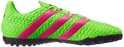 As Zapatos De Fútbol 16,4 Tf Adidas Hombres Af5059 Solar Verde / Shock Rosa / Núcleo Negro