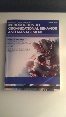 Introduction to Organizational Behavior and Management - UH 2012 w/ Access Key (MANA 3335 from 2012)