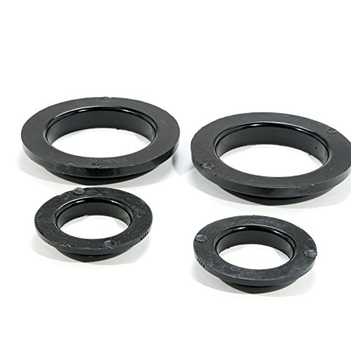 BBK 2546 Coil Spring Isolator Kit - Rear - Polyurethane for Ford (Ford Mustang Coil Spring)