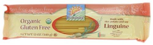 - Bionaturae Linguine Gluten Free Pasta, 12-Ounce (Pack of 4)