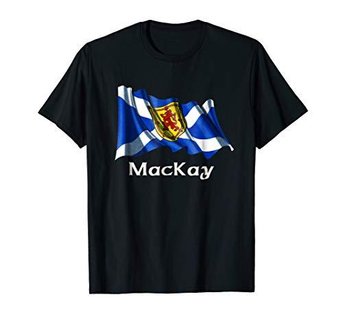 MacKay Surname Scottish Clan Scotland Flag T-shirt