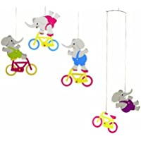 Flensted Mobiles Elephants on Bicycles Mobile