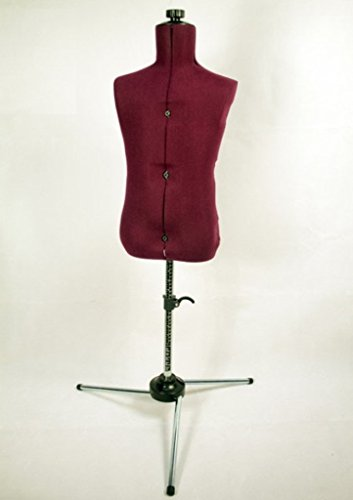 Family Adjustable Child-size Maroon Nylon Mannequin Dress Form by China Feiyue