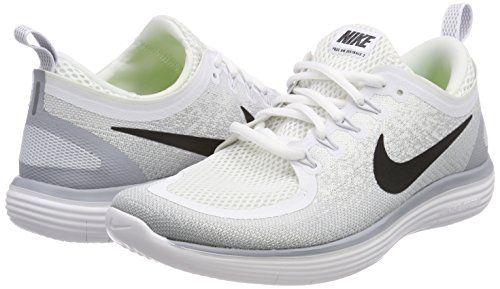 Negro Platino Gris Nike Blanco Running Free Hombre Distance RN 2 de 100 Blanco Zapatillas para Pursho rwPAOrq7