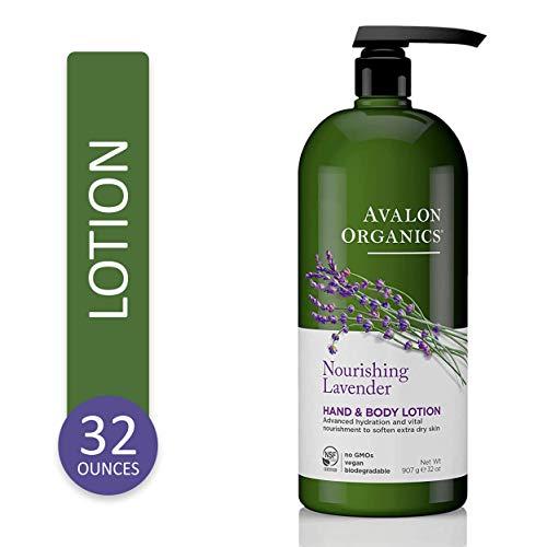Avalon Organics Nourishing Lavender Hand & Body Lotion, 32...