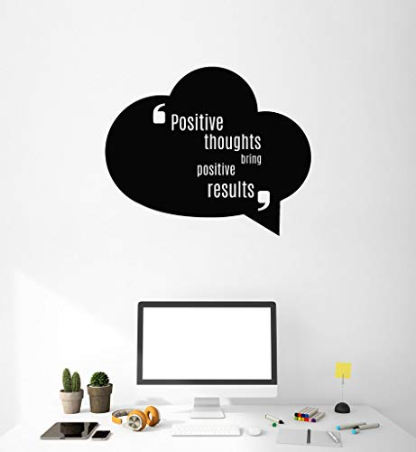 Wall Sticker Lettering quotes and saying Positive thoughts for sale  Delivered anywhere in Canada