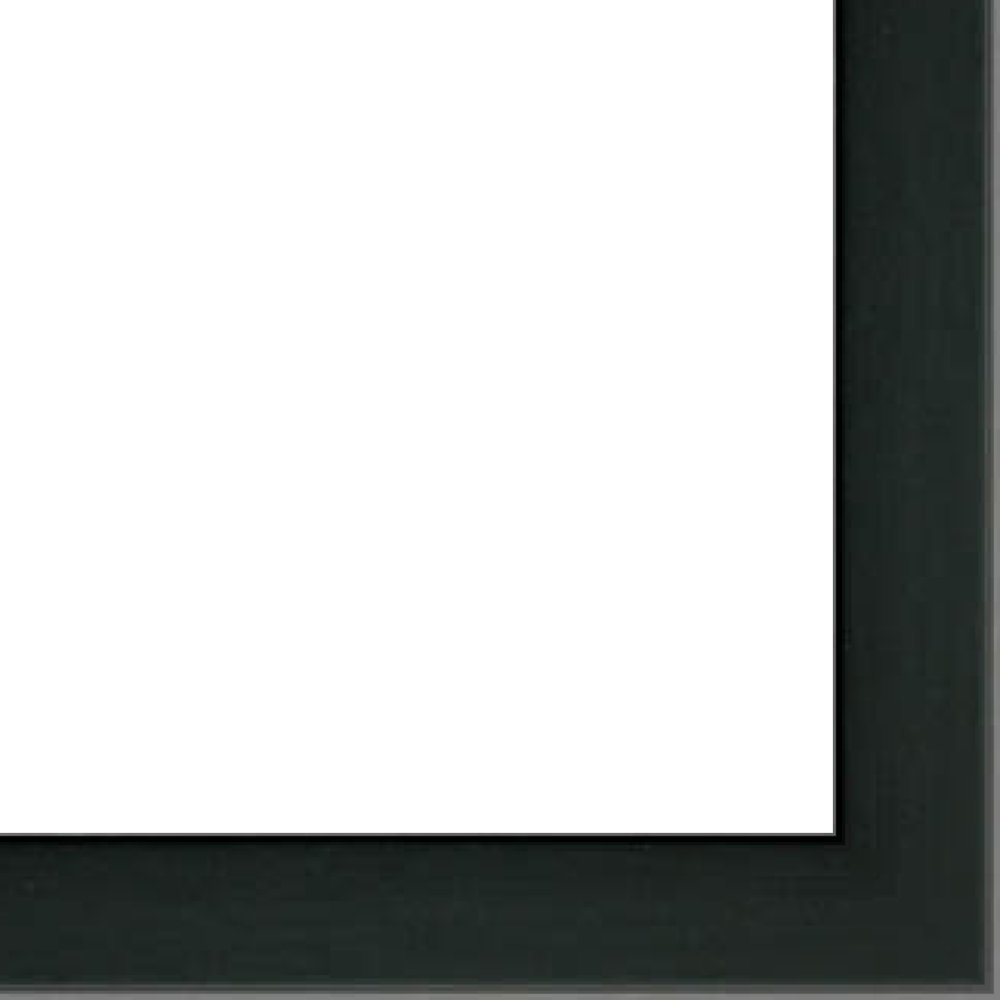 27x40 Basic Black Solid Wood Shadowbox Frame - 2'' Inches Deep - Great for Posters, Photos, Art Prints, Mirror, Chalk Boards, Cork Boards and Marker Boards