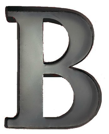 Exceptionnel Personalized Letter B Metal Wall Wine Cork Holder