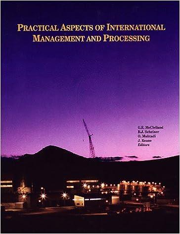 Descargar Libro Electronico Practical Aspects Of International Management And Processing Como Bajar PDF Gratis