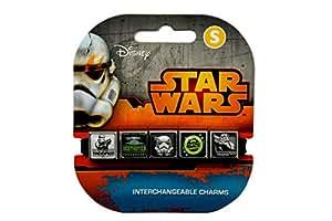 ROXO Star Wars 8009 Icons 5 Charm Band# 2, Black