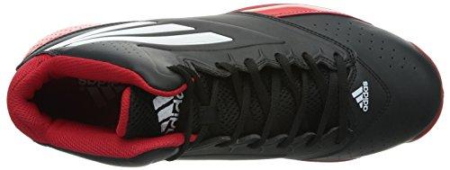 Adidas Serie 3 2014, Negro / blanco / rojo Scarle, 10,5 M con nosotros - negro/rojo/blanco