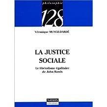 Justice sociale -la