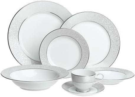 524bbf3f73b Mikasa Parchment Fine China 42-Piece Dinnerware Set