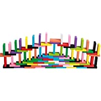 Syga Wooden Standard Compitition Domino Early Educational Toys, 12 Colours -120 Pieces