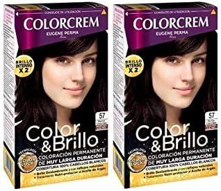 Colorcrem Tinte 2X1 57 Marron Choco 1800 gr: Amazon.es: Belleza