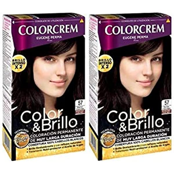 Colorcrem Tinte 2X1 57 Marron Choco 1800 gr: Amazon.es ...