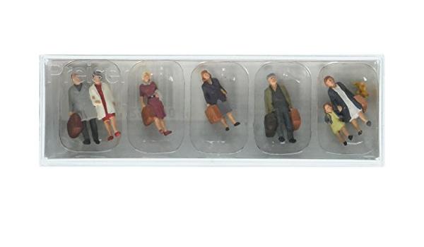 Preiser 10029 Passengers Departing HO Model Figure