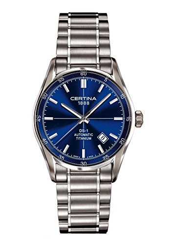 Certina DS 1 - 3 Hands Titanium Ladies Automatic Watch C0064074404100
