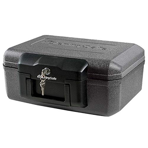 (SentrySafe 1200 Fire Safe Lock Box. Protects Your Family's Most Important Paper Documents, Media And Valuables From Fire Damage.)