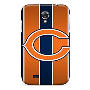 Samsung Galaxy S4 Zyh15029vPuW Support Personal Customs Colorful Chicago Bears Pattern Durable Cell-phone Hard Covers -ErleneRobinson