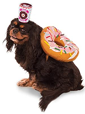 Rubies Costume Company Donut and Coffee Pet Suit