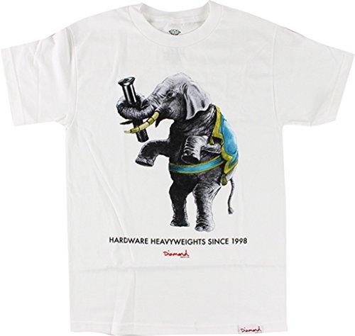 Ride Heavyweight T-shirt - Diamond Hardware Heavyweights II Short Sleeve XL-White T-Shirt