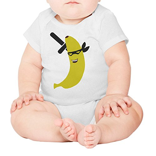 M2VIK9 Baby Romper Short Sleeve Clothes Jumpsuit Ninja Banana Bodysuit Playsuit Outfits]()