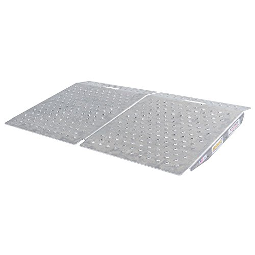 Ramps Shed (Guardian Industrial Products SR-01-24-24-P-TS6-2 Shed Ramps with Punch Plate Surface,2 Pack)