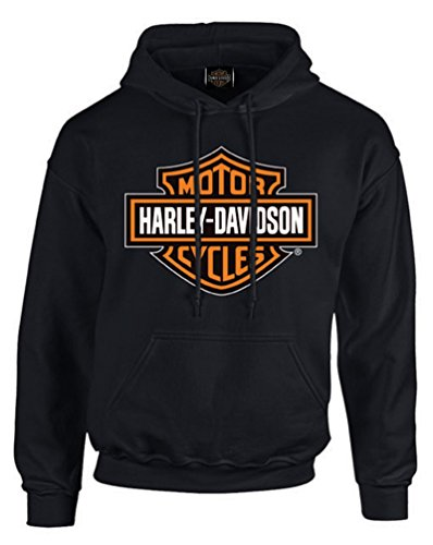 Harley Davidson Shield Pullover Fleece Sweatshirt