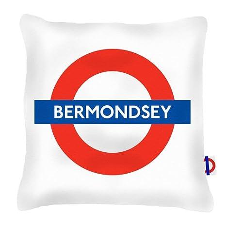 Tubo de Bermondsey estación de cojín: Amazon.es: Hogar