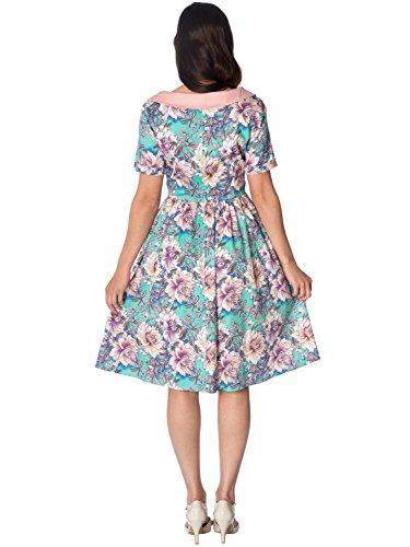 Front Green Banned Tie Dress Days by Marys Dancing Kleid 5477 Garden 0TvqEnCw