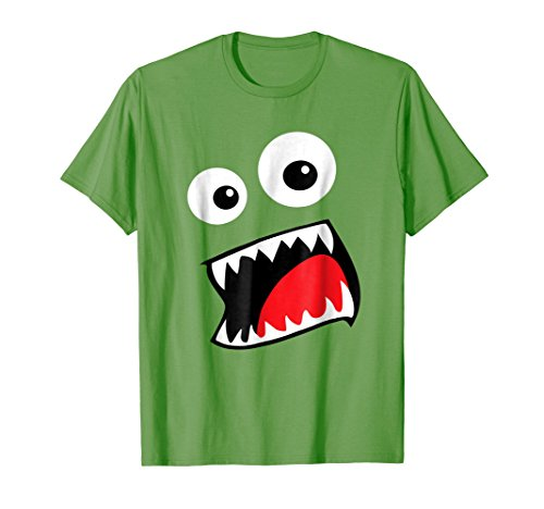 Mens Monster Halloween Costume Shirt Funny Couple Group Ideas Small Grass -