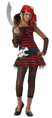 Costumes Tween Halloween Pirate (California Costumes Teens Pirate Cutie Costume,)