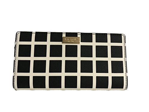 Kate Spade New York Laurel Way Printed Stacy Wallet (Checkered) by Kate Spade New York