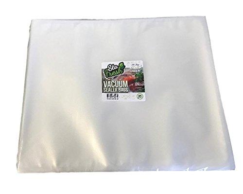 "Sta-Fresh 15"" x 18"" Vacuum Sealer Bags 3.5mil SF1518 Large Size Bag – 100 Count"