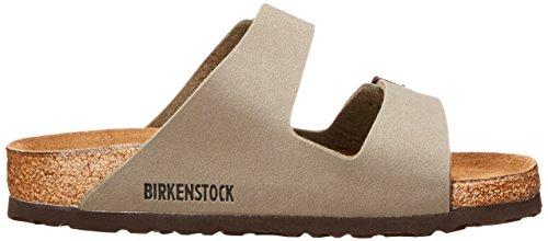 Birkenstock Arizona-Birkibuc(tm) (Unisex), Stone Birkibuc&Trade, 35 (US Women's 4-4.5) Regular by Birkenstock (Image #6)
