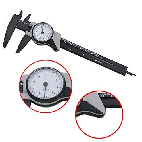 Measuring Tool, Inkach 0-150mm Dial Vernier Caliper Measurement Gauge Micrometer Template Tool 0-6