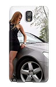 Ideal CharlesRaymondBaylor Case Cover For Galaxy Note 3(girls And Cars), Protective Stylish Case
