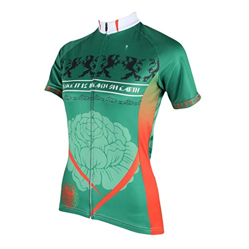 Women's Moisture Cycling Sports Top Dry Jersey Breathable Green Multicolore Shirt Quick Wicking Outdoors Jacket Mountain Clothing Bike qdrxqFwYt