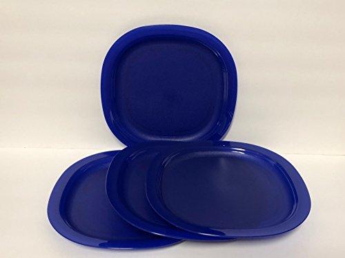 Tupperware Luncheon Plates in Tokyo Blue