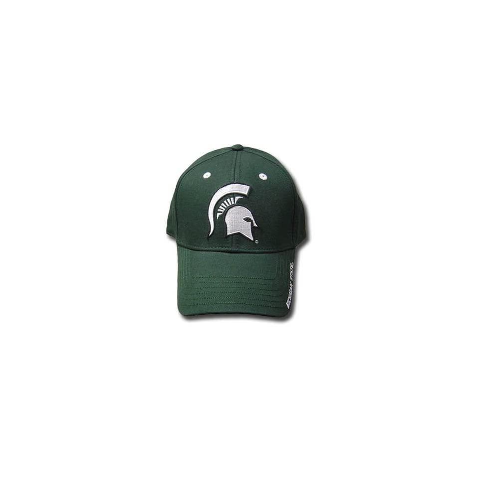 NCAA OFFICIAL MICHIGAN STATE SPARTANS GREEN CAP HAT ADJ