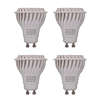 Chichinlighting 7w Gu10 Led Bulb Pack Of 4 Pieces Led