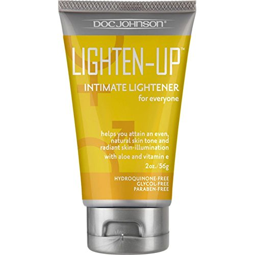 Doc Johnson Lighten-Up Anal Lightener, Black, 0.2 Pound