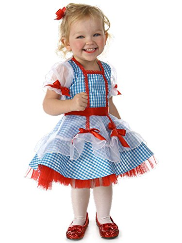 Princess Paradise Baby Girls' The Wizard Of Oz Dorothy Glitter Deluxe Costume, As Shown, 12 To 18 Months (Wizard Oz Shoe Cover Of)