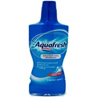 AQUAFRESH El enjuague bucal menta fresca ml.500 cuidado