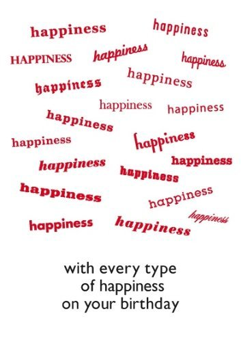 Word Play With Every Type Of Happiness On Your Birthday ...