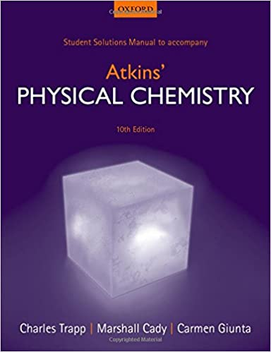 Student solutions manual to accompany atkins physical chemistry student solutions manual to accompany atkins physical chemistry charles trapp 9780198708001 amazon books fandeluxe Image collections