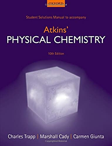 student solutions manual to accompany atkins physical chemistry rh amazon co uk Physical Chemistry Peter Atkins Physical Chemistry Jokes