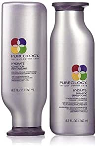 Pureology Hydrate Shampoo and Condition Set, 8.5 Oz Each
